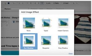 Effets spéciaux sur images dans Confluence 4.1