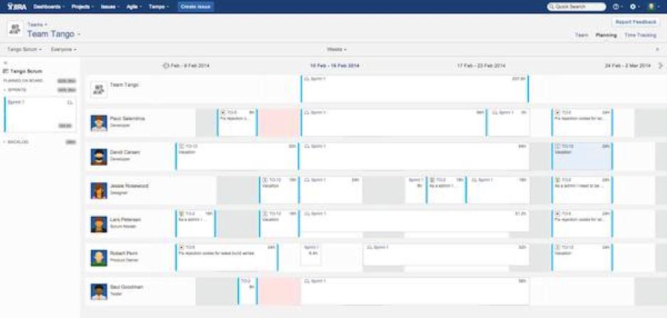 Team-Tempo-Planner
