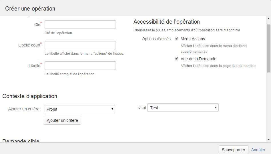 """Le nouveau menu """"Accessibilité de l'opération"""""""