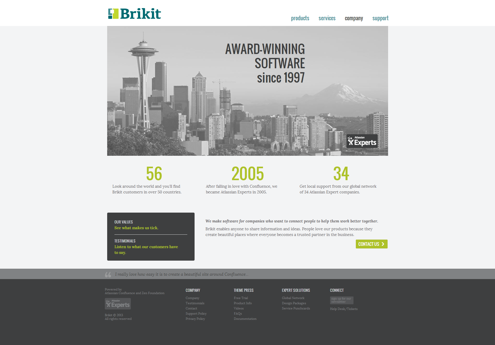 Brikit Homepage