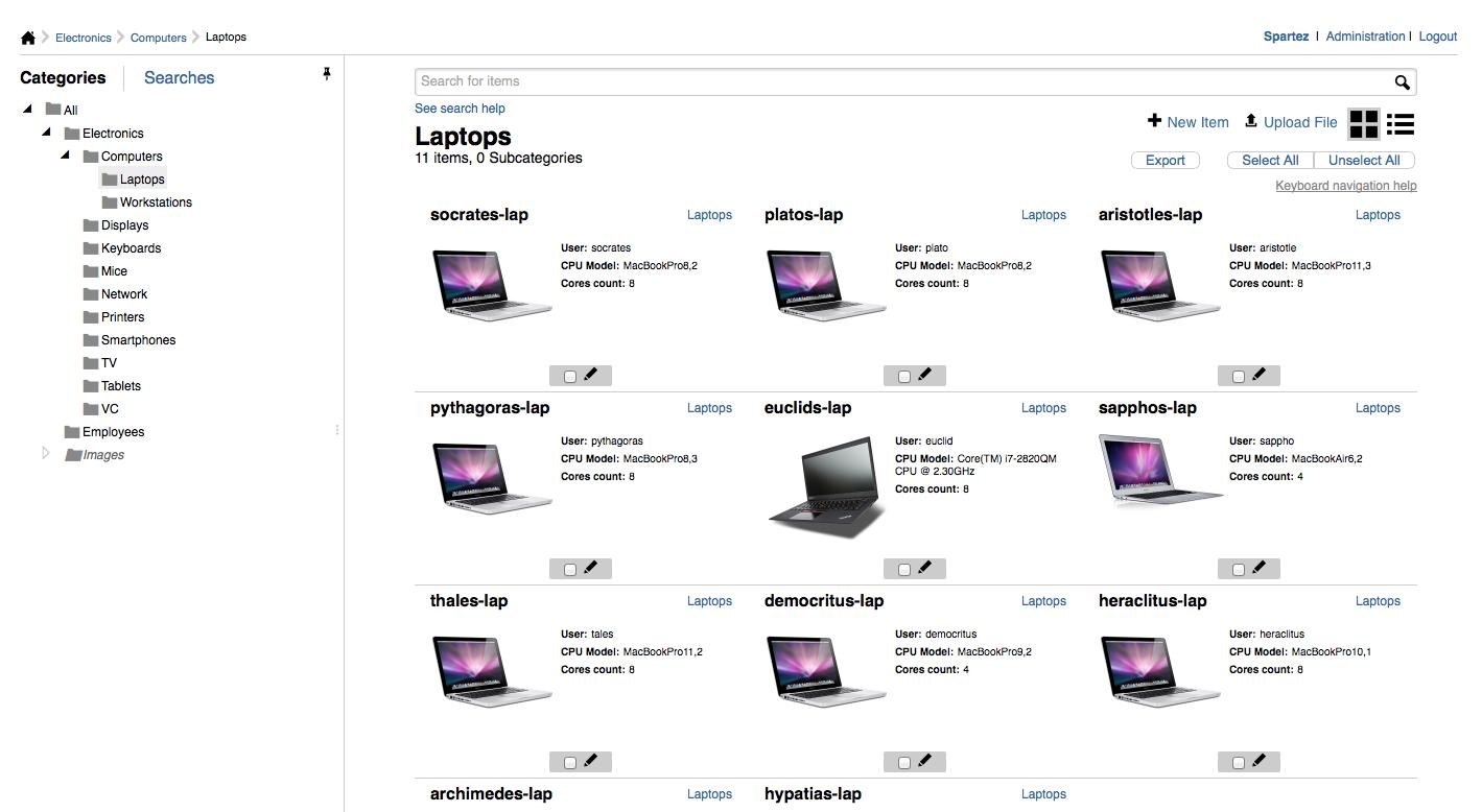 Display laptops