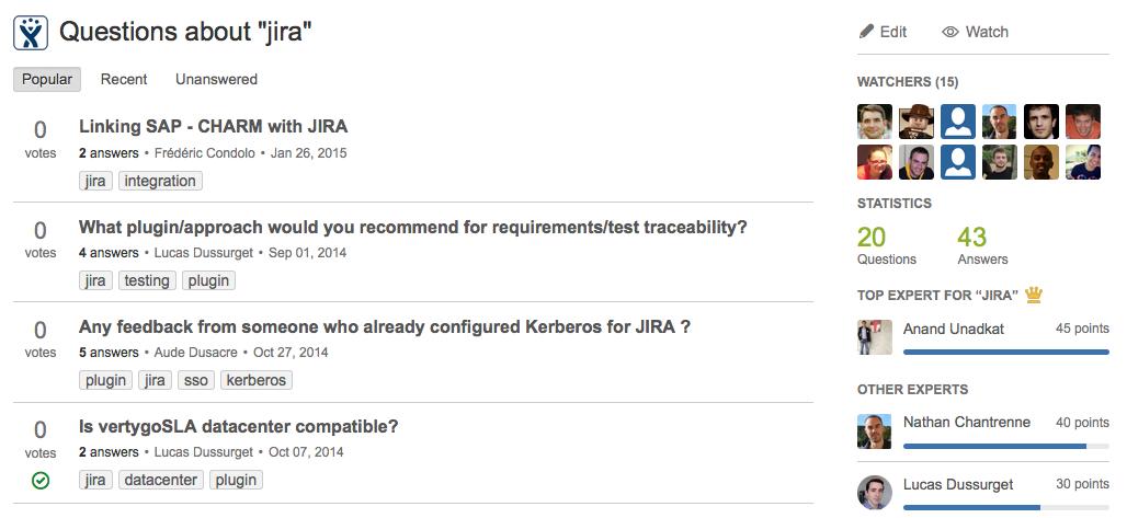 JIRA questions