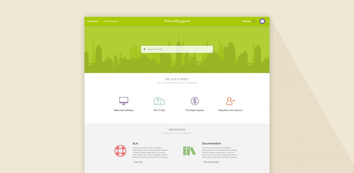Customized portal