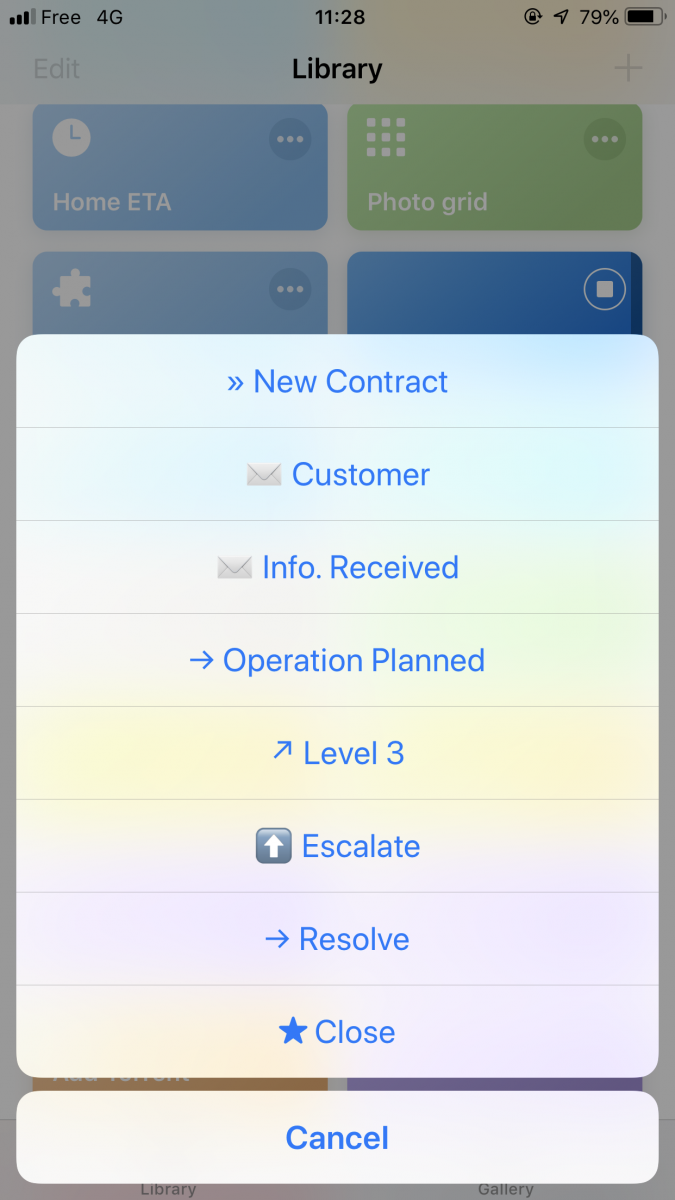 integrate with Jira issues and transition them directly from a mobile device