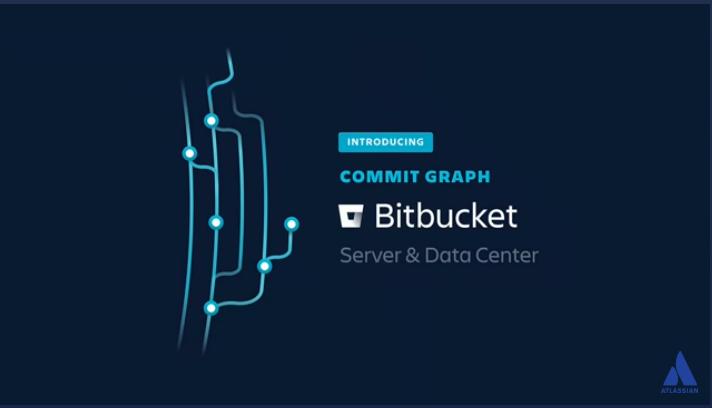 Bitbucket commit graph