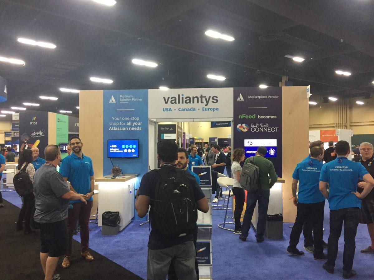 Valiantys booth